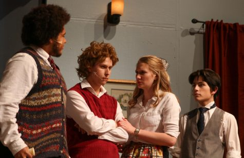 """The Mousetrap"" drama production (photos by Sara Brown)"