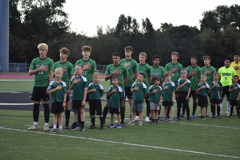 Boys varsity soccer vs. Kapaun Mt. Carmel (Photos by Damien Matmanivong)