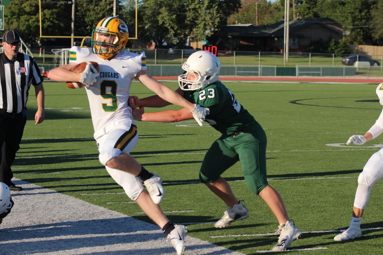 JV Football v. Salina South 10/7 (Photos by Kiley Hale)