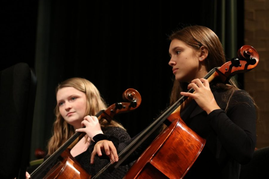 Fall orchestra concert (Photos by Sara Brown)