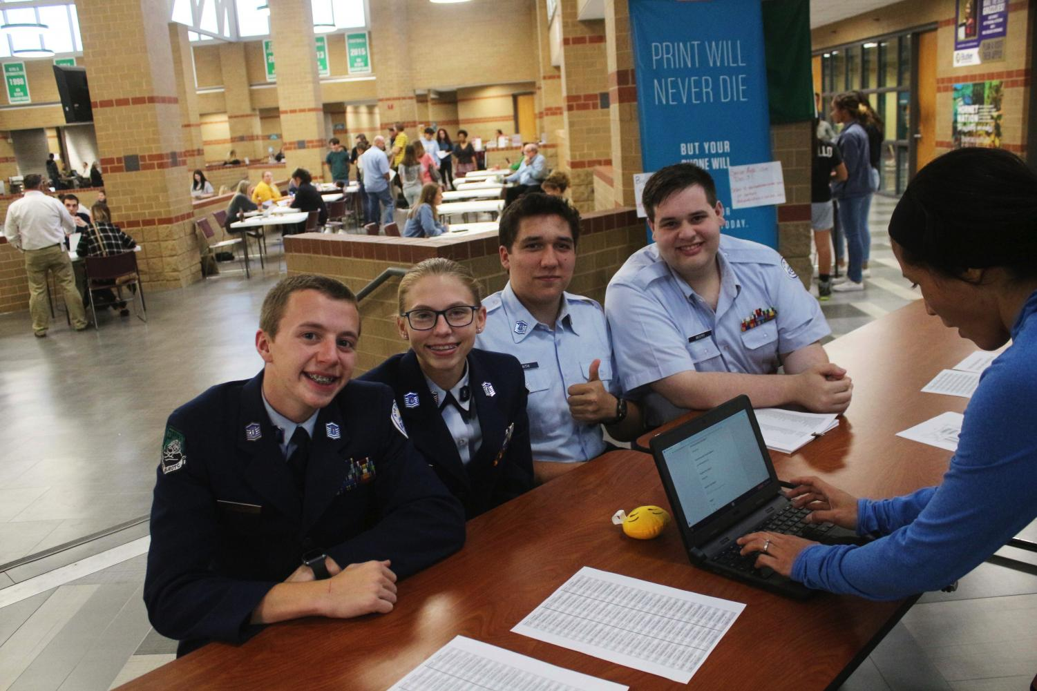 ROTC+volunteers+to+help+at+conferences+on+Oct.+21
