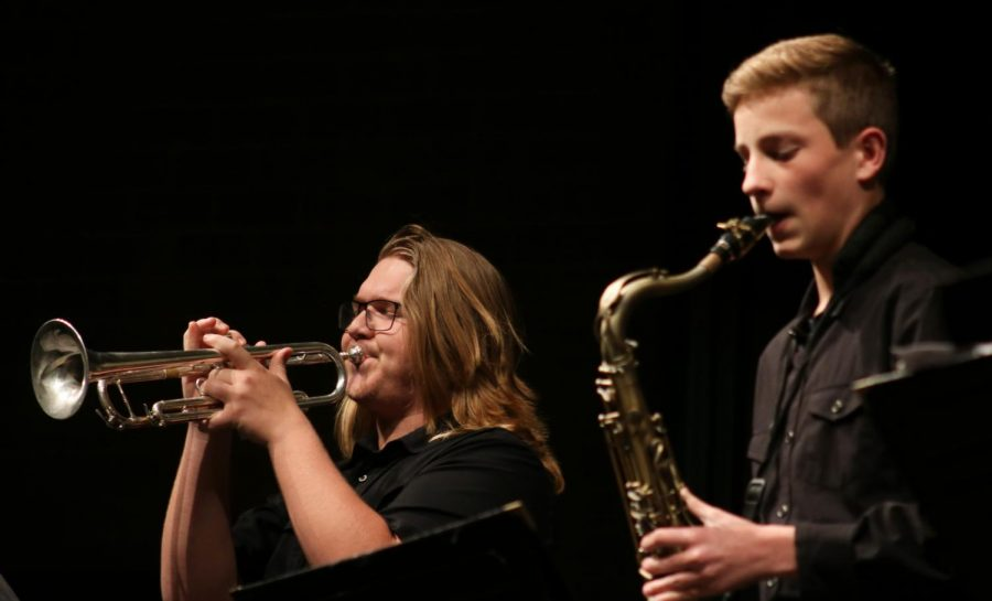 Fall jazz band concert (Photos by Sara Brown)