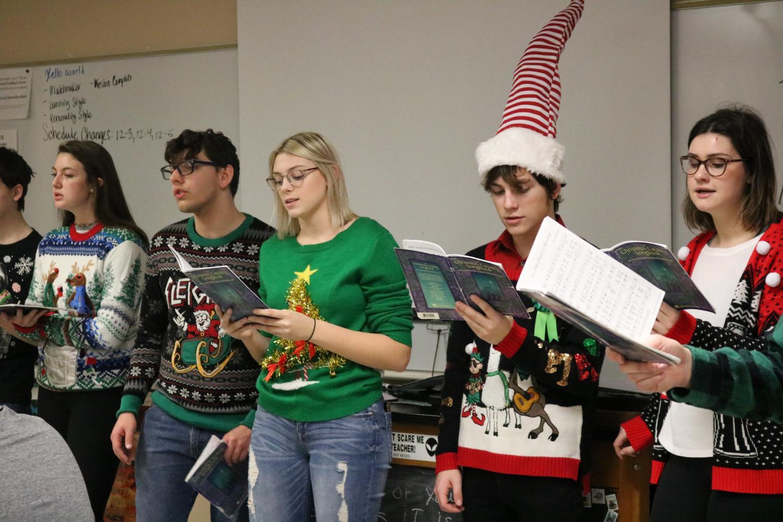 Madrigals+Christmas+Caroling+%28Photos+by+Jordan+Allen%29