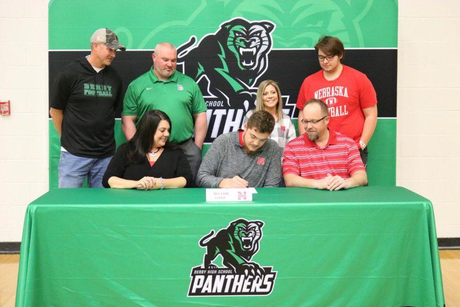 Senior Alex Conn Signs to Nebraska University