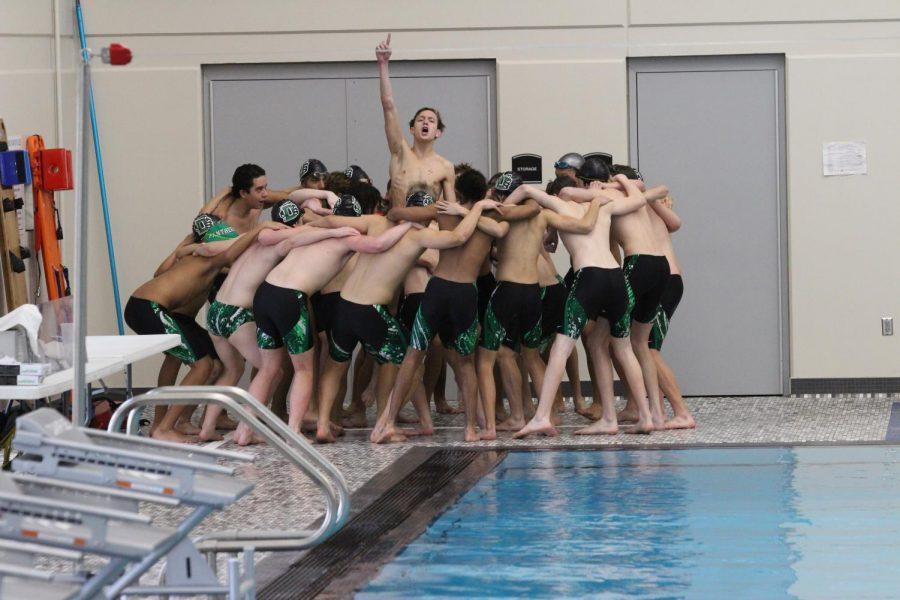 Varsity Boys Swim at Campus 1/29 (Photos by Kiley Hale)