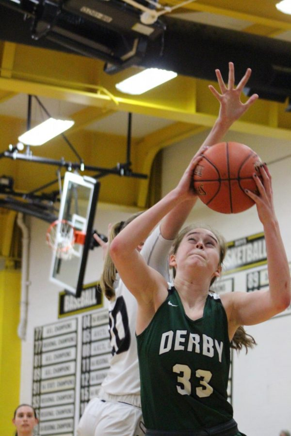 Girls basketball Derby vs. Campus (photos by Reese Cowden)