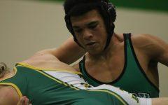 Wrestling duel V. Salina South (Photos by Mya Studyvin)
