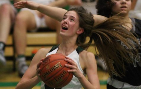 Girls varsity basketball Derby vs. Campus (photos by Reese Cowden)
