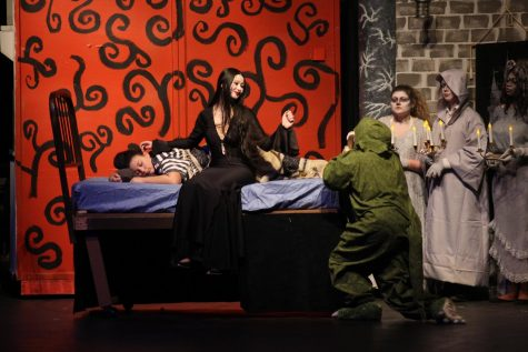 The real family behind the Addams Family performance