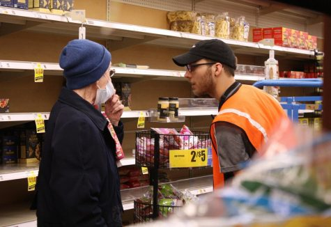 Coronavirus Affects Local Shopping (photos by Reese Cowden)