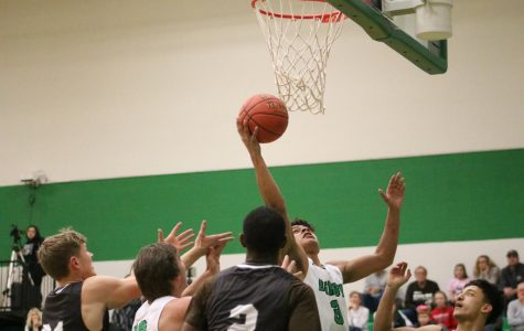 Boys varsity basketball v. Garden City (Photos by Mya Studyvin)