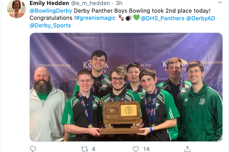 Boys bowling takes second in 6A