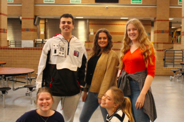 Panther Personalities: Foreign exchange students relish the new life