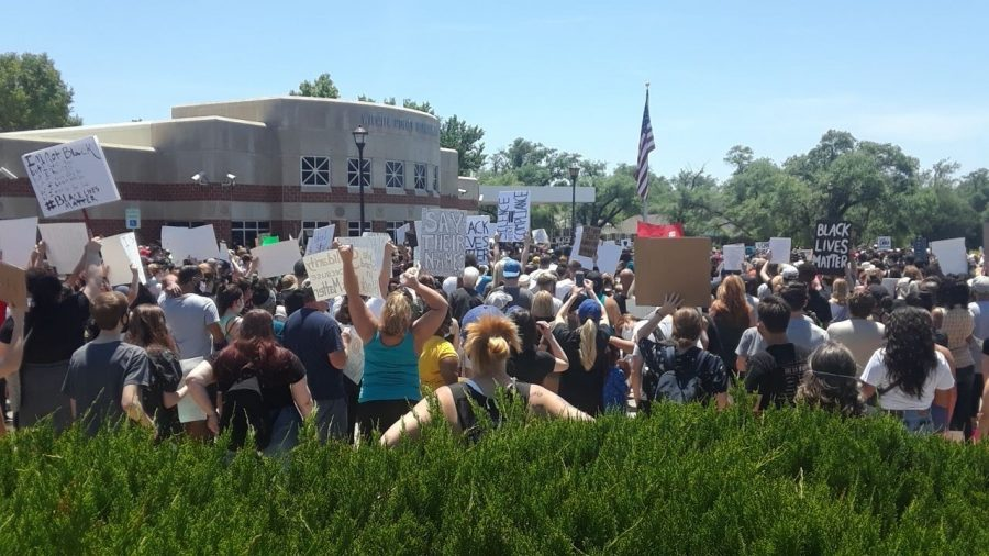 Two peaceful protests focused on police brutality occur in Wichita