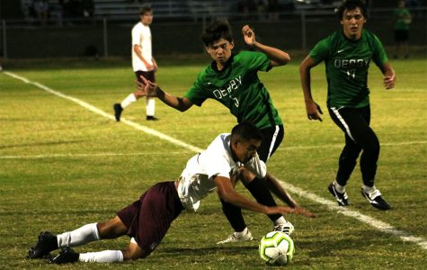 Varsity Soccer Derby v. Salina Central (photos by Reese Cowden)