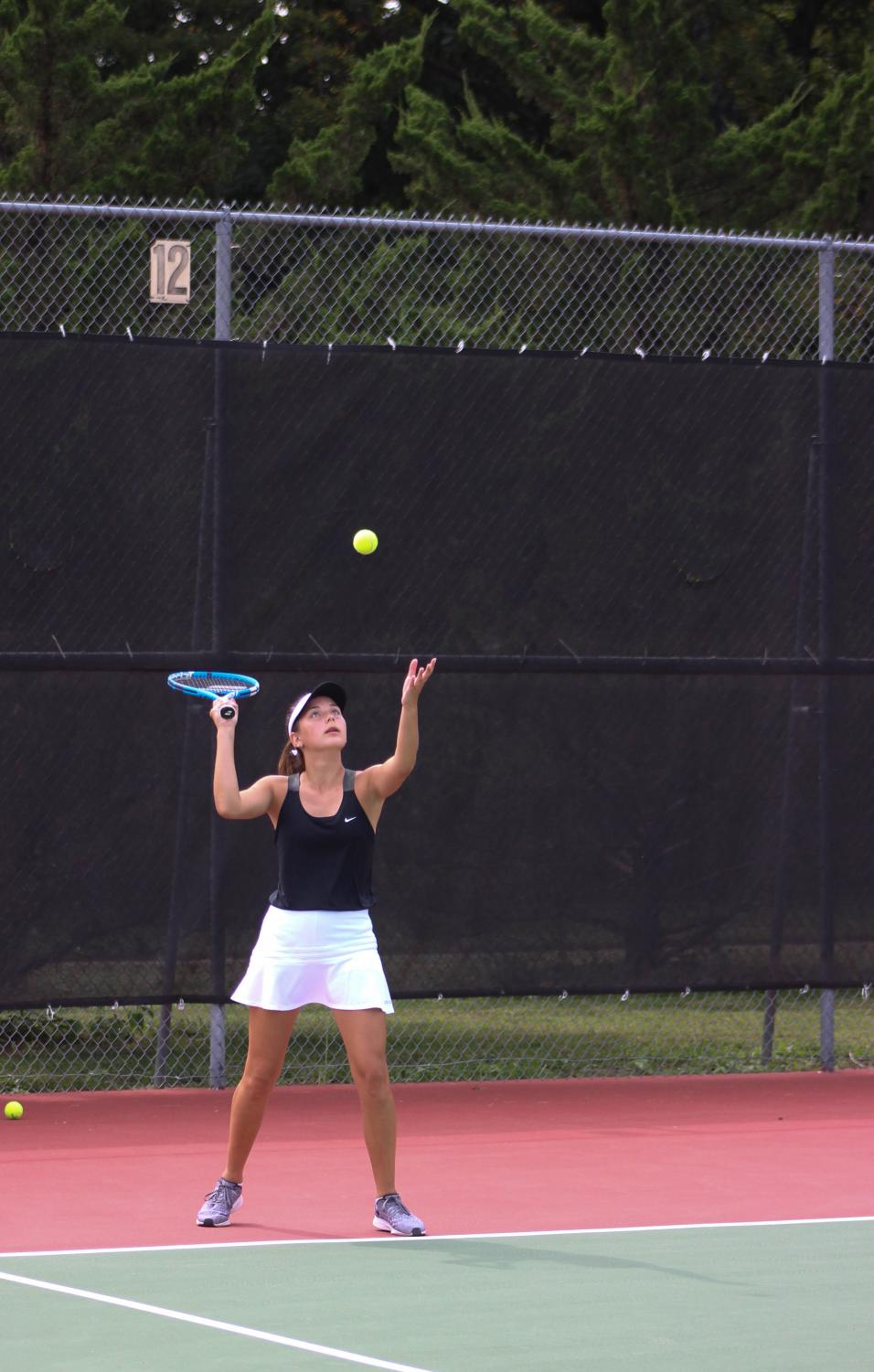Girls+Varsity+Tennis+at+Kossover+Tennis+Center+9%2F22+%28Photos+by+Kiley+Hale%29
