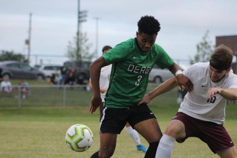 Varsity soccer v. Salina Central (Photos by Mya Studyvin)
