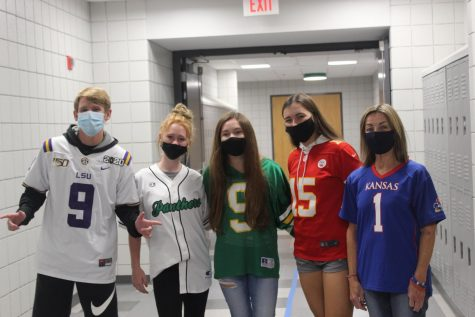 Jersey Day for Spirit Week (Photos by Rissa Clingan)