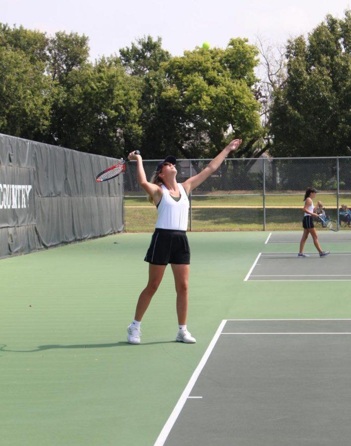 JV Girls Home Tennis Meet (Photos by Kaitlyn Jolly)