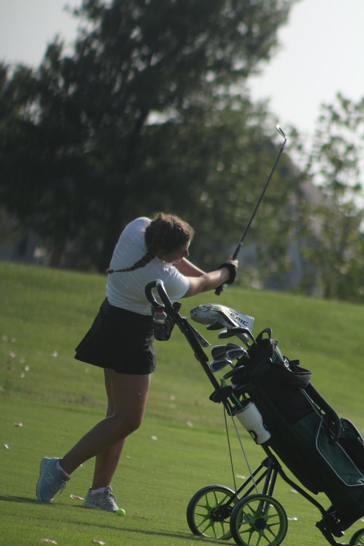 Girls+golf+season+opener+%28Photos+by+Mya+Studyvin%29