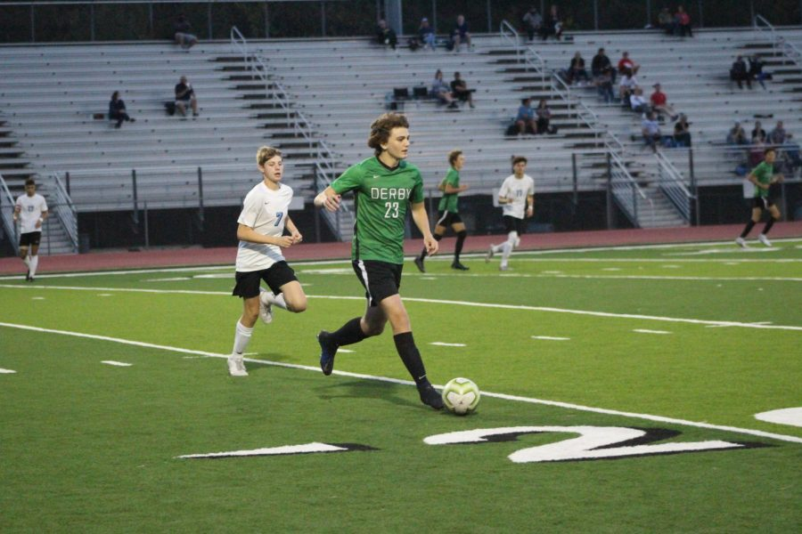 Varsity Boys Soccer 10/22 (Photos by Kiley Hale)