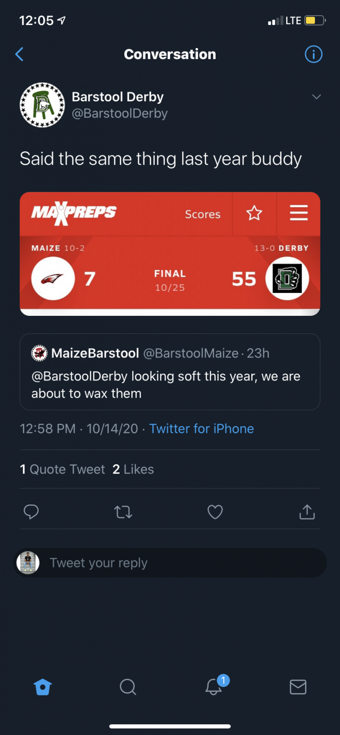 Twitter+beef+heading+into+Friday%27s+football+game+at+Maize