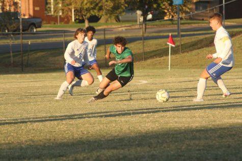 Varsity soccer v. Hutchinson (Photos by Mya Studyvin)