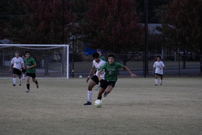 Derby+vs.+Campus+varsity+soccer+%28photos+by+Hailey+Jeffery%29