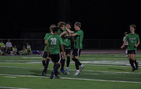 Derby soccer v. Eisenhower (photos by Hailey Jeffery)