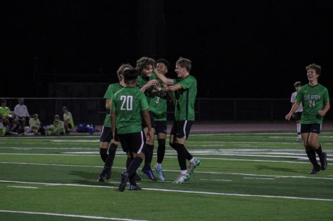 Derby soccer v. Eisenhower (photos by Hailey Jeffery)