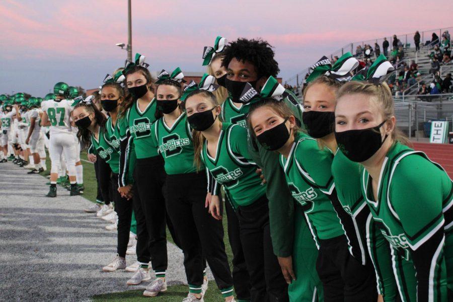 10/16 Varsity Cheerleaders(Photos by Josie Nussbaum)