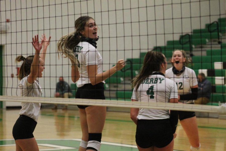 Varsity Volleyball (photos by Trinity Kuntz)