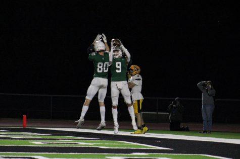 Varsity football v.  Southeast (Photos by Hailey Jeffery)