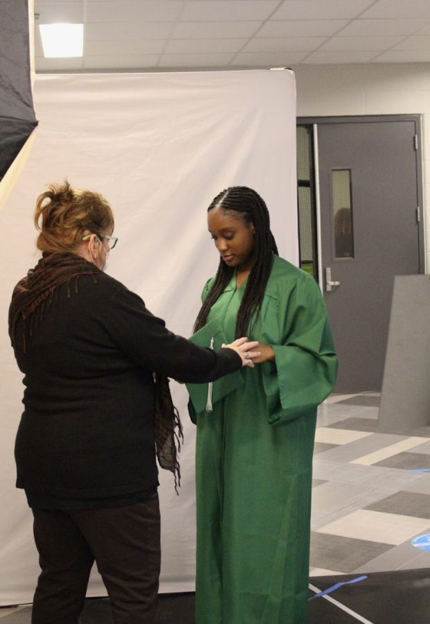 Cap and Gown Pictures Day (Photos by Alondra)