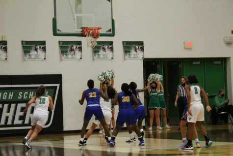 Freshman, JV girls basketball vs. Northwest (Photos by Hailey Evans)