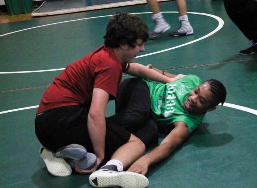 Wrestling Practice (Photos By Alondra Lopez)