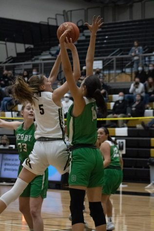 Varsity Basketball at Maize South (photos by Hailey Jeffery)