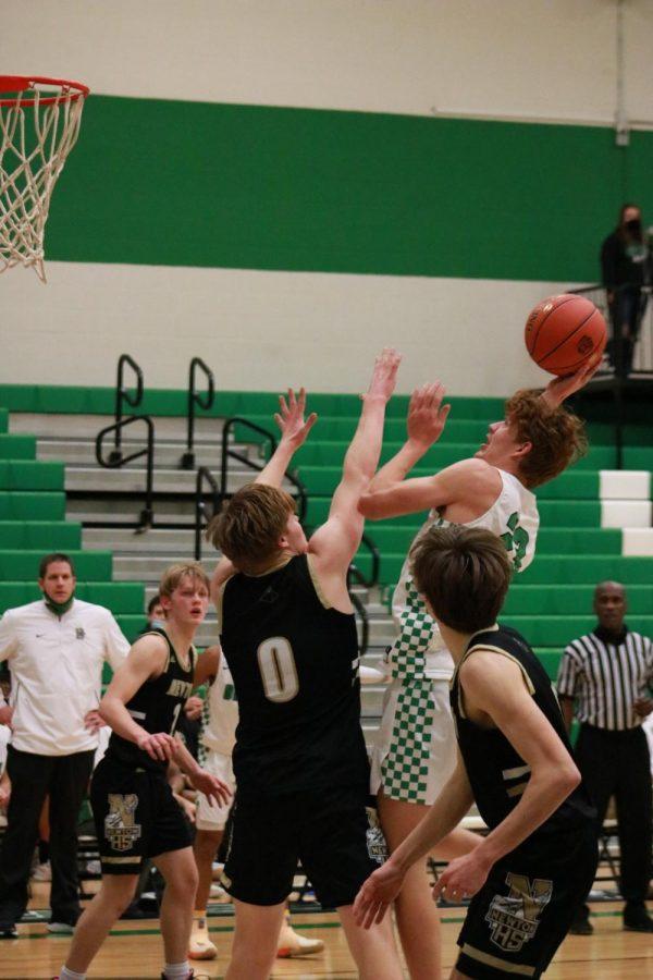 JV and Varsity Basketball v. Newton at home (photos by Hailey Jeffery)