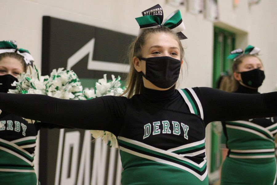 JV Girls Basketball and Cheer (Photos by Joselyn Steele)