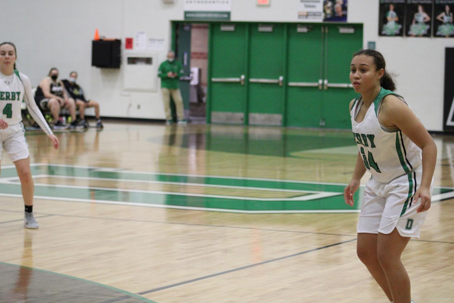 JV+Girls+Basketball+and+Cheer+%28Photos+by+Joselyn+Steele%29