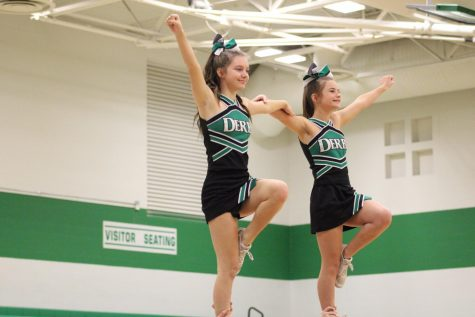 Varsity Cheer (Photos by Joselyn Steele)