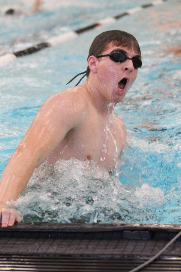Boy's Swim at Campus (Photos by Kaitlyn Jolly)