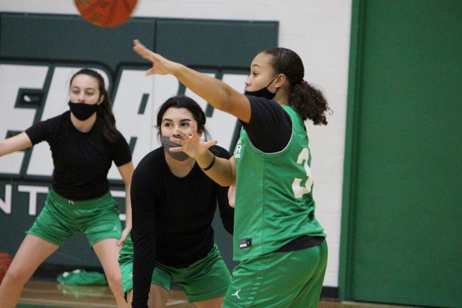 Girls Basketball Practice (Photos by Talia Ransom)
