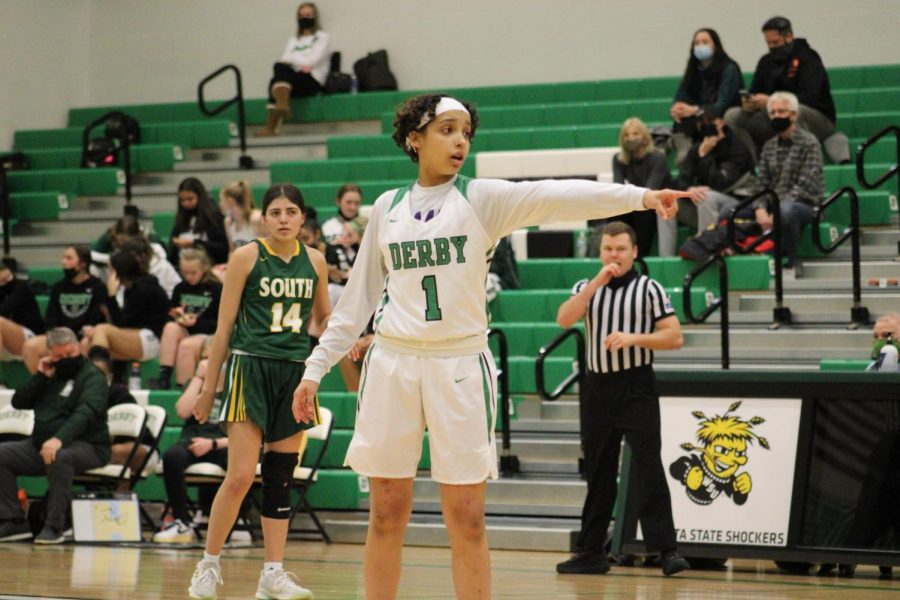 Varsity Girls Basketball vs Salina South (Photos by Joselyn Steele)