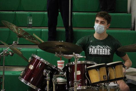 DHS Basketball Band 2/12/21 (Photos by Joselyn Steele)