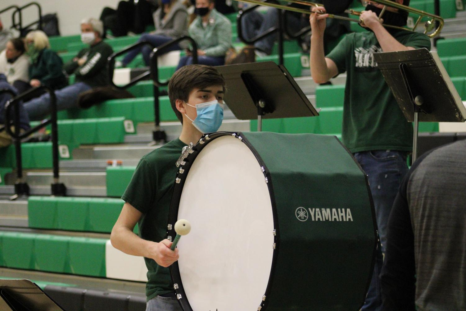 DHS+Basketball+Band+2%2F12%2F21+%28Photos+by+Joselyn+Steele%29