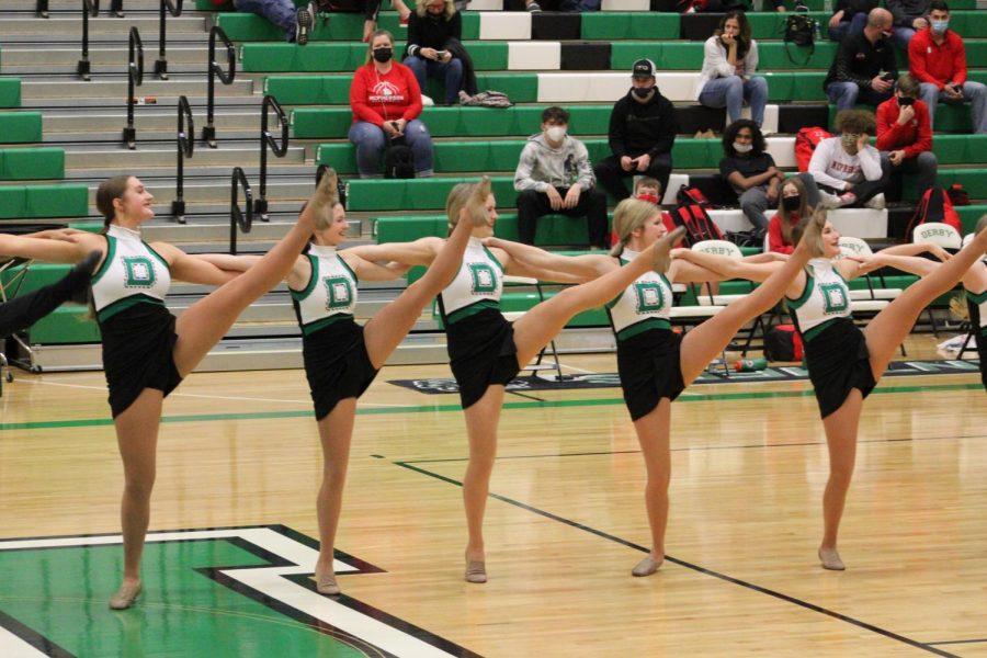 Dance team 2/5/21 (Photos by Josie Nussbaum)