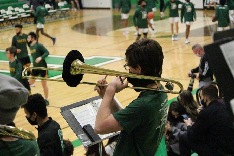 DHS+Basketball+Band+Salina+South+Game%28+Photos+by+Talia+Ransom%29