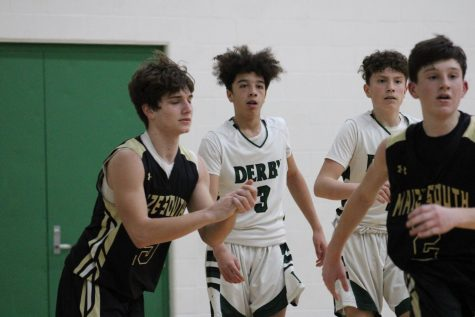 Freshman Boys Basketball vs Maize South (Photos by Joselyn Steele)