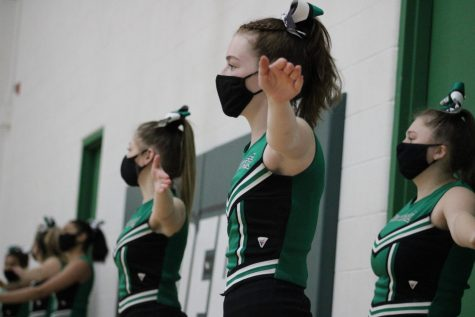 JV Cheer 2/23/21 (Photos by Joselyn Steele)